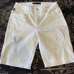 Rock & Republic white denim shorts